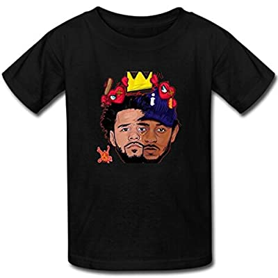 Booster Custom Mens Kendrick Lamar & J Cole T-shirt cotton short sleeve shirts