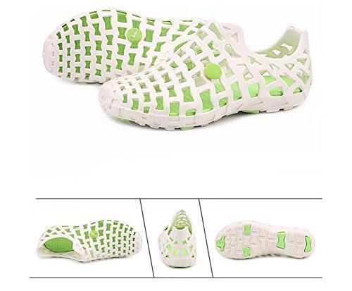 2017 verano nueva pvc pareja de hombres y sandalias casuales zapatillas de casa femeninos 5