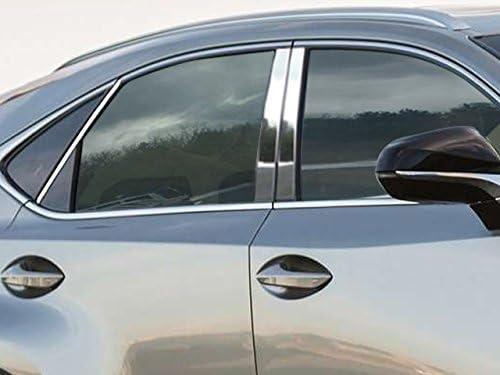 PP14102 4 Piece Stainless Pillar Post Trim QAA fits 2014-2020 Lexus is
