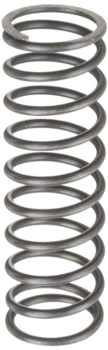 (Music Wire Compression Spring, Steel, Inch, 1.1