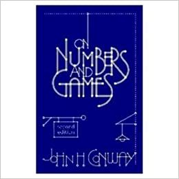 on numbers and games 2nd edition