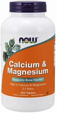 Now Supplements, Calcium & Magnesium, 250 Tablets