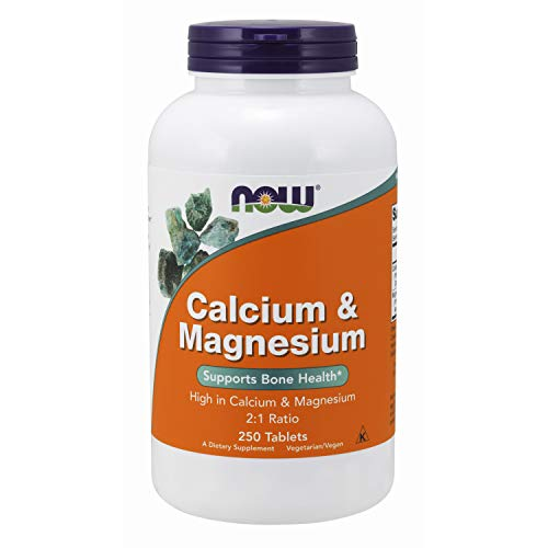 NOW Supplements Calcium Magnesium