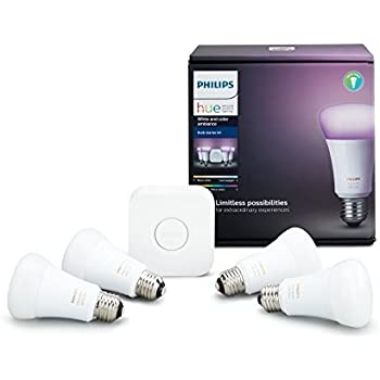 philips hue kit california ambiance led a19 smart starter amazon compatible alexa equivalent apple assistant bridge works residents 60w bulb