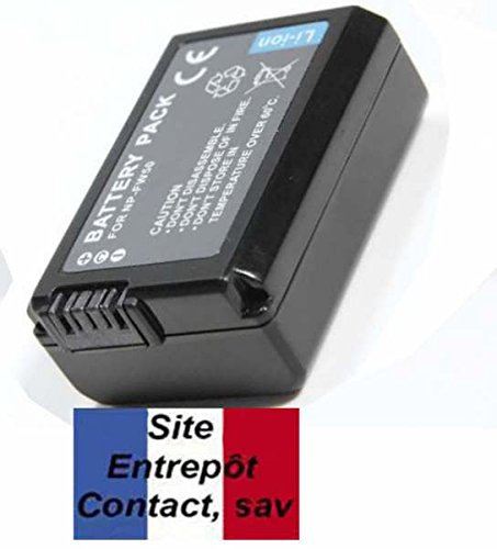 E-Force ® Camera Battery for Sony NPFW50, NP FW50 – 48. Manufacturer: French Free Delivery UK