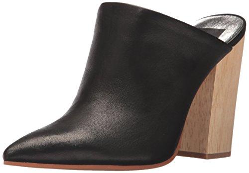 - Dolce Vita Women's Enyo Mule, Black Leather, 8.5 Medium US