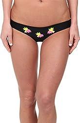 Beach Riot Women's Aruba Bottom Jamaican Shakin Swimsuit Bottoms MD