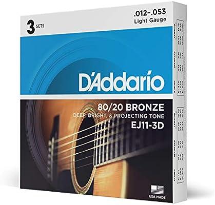Daddario Nb135 - Juego cuerdas guitarra acústica: Amazon.es ...