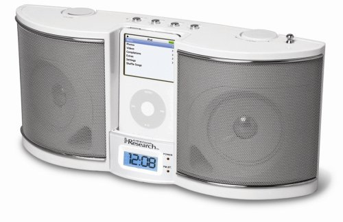 Emerson iTone iP100 Portable Sound System for iPods (White)