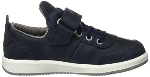 Timberland CA1ISV, Zapatillas Niños Azul (Black Iris Saddleback Full Grain)