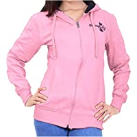 ADBUCKS Women's Winter Wear Hood with Zipper Cotton Jacket (Plus Size Also Available)