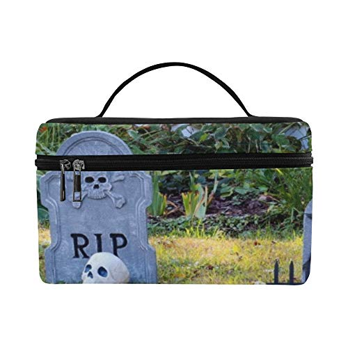 (Halloween Outdoor Decoration Front Yard Private Lunch Box Tote Bag Lunch Holder Insulated Lunch Cooler Bag For)