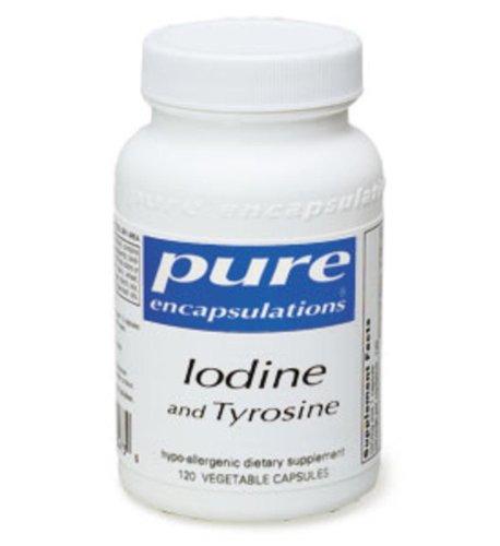 Pures Encapsulations - iode et Tyrosine 120 vcaps