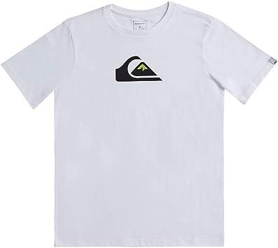 Quiksilver Comp Logo-Camiseta para Niños 8-16: Quiksilver: Amazon.es: Deportes y aire libre