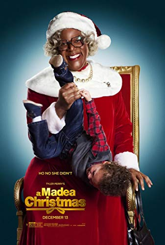 A Madea Christmas 14inch x 21inch Silk Poster Wallpaper Wall Decor Silk Prints for Home and Store (Christmas Poster A Madea)
