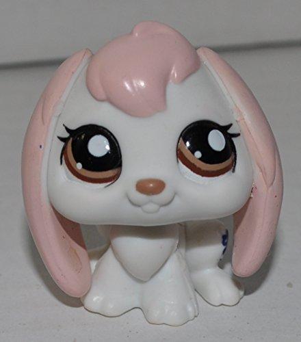 Rabbit (White & Pink, Brown Eyes) - Littlest