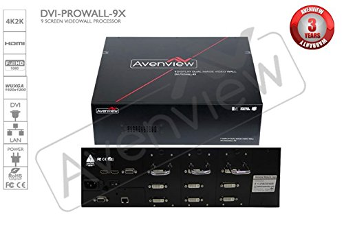 Avenview DVI-PROWALL-9X DVI Video Wall