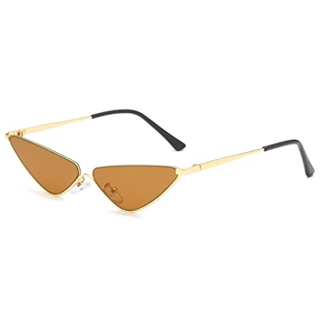 Yangjing-hl Gafas de Sol Retro de Ojo de Gato pequeño para ...