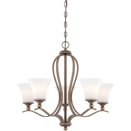 Quoizel SPH5005PN Sophia Chandelier, 5-Light, 500 Watts, Palladian Bronze (23