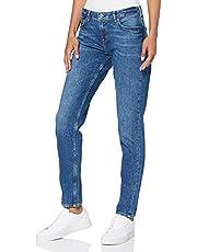 Scotch & Soda dames jeans (rechte pijp) NOS - The Keeper - Deep Blue