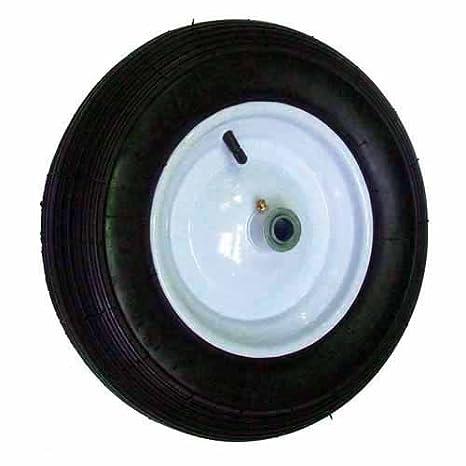 Rueda de anillos con 400 x 6-2 pliegues nuestra Remolque para cortacésped (HDC10L