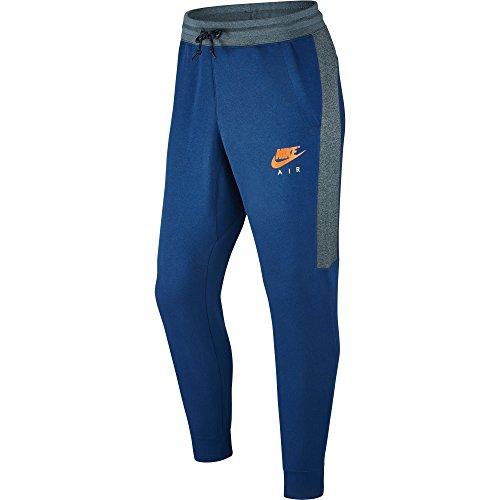 Nike mens M NSW JGGR FLEECE AIR 861626-433_2XL - BLUE JAY/ICED JADE/TOTAL ORANGE