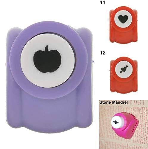 - AMdinghaonuo Accessories DIY Creative Paper Embossing Album Art Heart