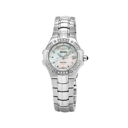 Seiko Coutura Collection Mother-of-Pearl Dial Women's Watch (Coutura Mother Of Pearl Dial)
