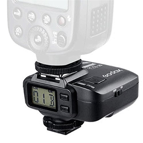 Godox 2.4GHz X1R-N Wireless Hot Shoe Flash Trigger Receiver D70/D70S/D80/D90/D1200/D300/D300S/D600/D700/D750/D800/D810/D3000 Series/D5000 Series/D7000 Series for Nikon DSLR by Godox
