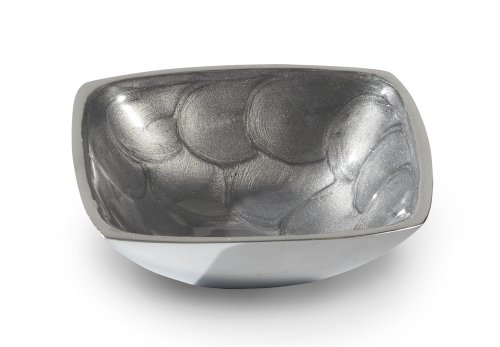 (Julia Knight Classic 4-Inch Bowl, Petite, Platinum,)