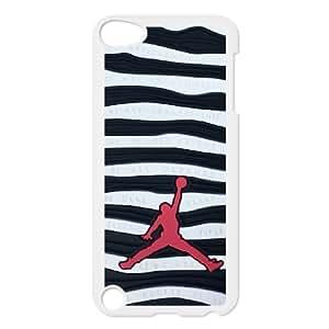 Ipod Touch 5 Phone Case for Classic theme Jordan Logo pattern design GCTJDAL859321