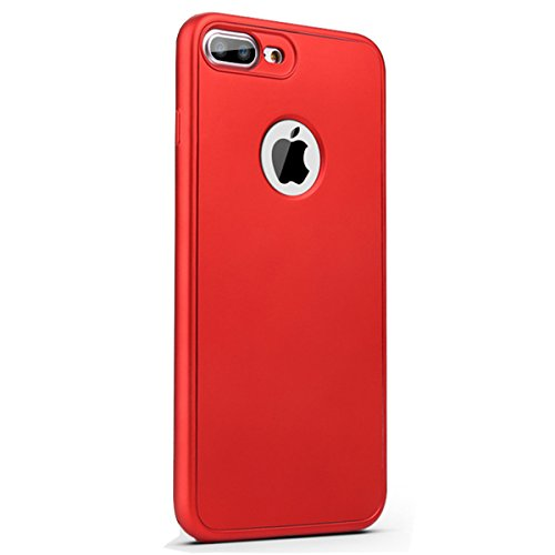 Surface Case Rouge Full Protector Protection Vanki iPhone for iPhone Screen 360 Coated Case SE Matte 5 Tempered Apple Slim SE Slip 5S Non Soft Body Glass with 1xxYFqwat