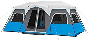 Core 6 Person / 9 Person / 10 Person / 12 Person Lighted Instant Cabin Tents