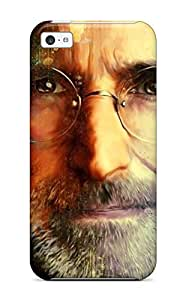 Excellent Design Amazing Steve Jobs Painting Case Cover For Iphone 5c