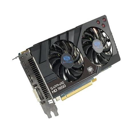 Sapphire 11200-06-20G AMD Radeon HD7850 1GB - Tarjeta gráfica (Activo, ATX, AMD, Radeon HD7850, GDDR5-SDRAM, PCI Express 3.0)