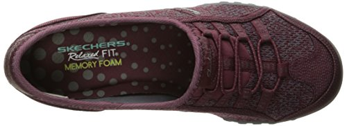 Skechers Breathe-easy allure - Zapatillas Mujer Burdeos