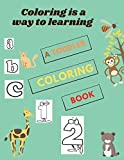 Coloring is a way to learning: A Toddler Coloring