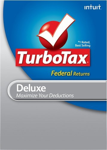 TurboTax Deluxe Federal + E-file 2011 for PC [Download] [Old Version] by Intuit