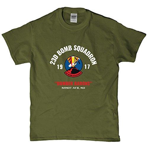 Minnesota Bobs Air Force 23rd Bomb Squadron T Shirt