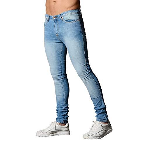 Hombres Pantalones Style3 Vaqueros para APRFELICIA M Style3 Size para Color Hombres Ajustados Vaqueros Ajustados Pantalones lápiz elásticos dxwTXHwR