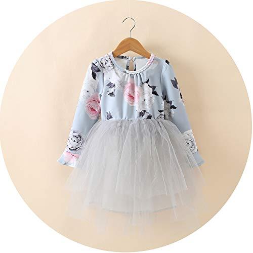 Petals Designs Girl Dress Children Party Costume Kids Formal Events Vestidos Infant Flower Dress Fluffy Wedding Gown 3 5 7T,as photo18,4T