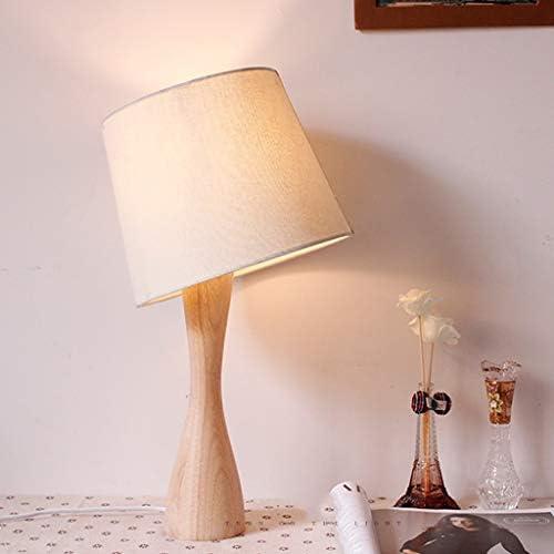 寝室用ライト 小さなベッドサイドテーブルランプ目の保護デスクランプ木製ナイトスタンドランプのためのベッドルーム、リビングルーム、オフィス、ホーム - 17インチ ベッドサイドランプ