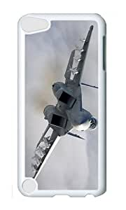 Ipod 5 Case,MOKSHOP Cute F18 Hornet Hard Case Protective Shell Cell Phone Cover For Ipod 5 - PC White