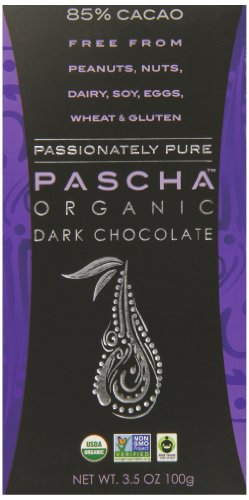 Pascha Organic Dark Chocolate, 85% Cacao, 3.5 Ounce (Organic Chocolate Candy compare prices)