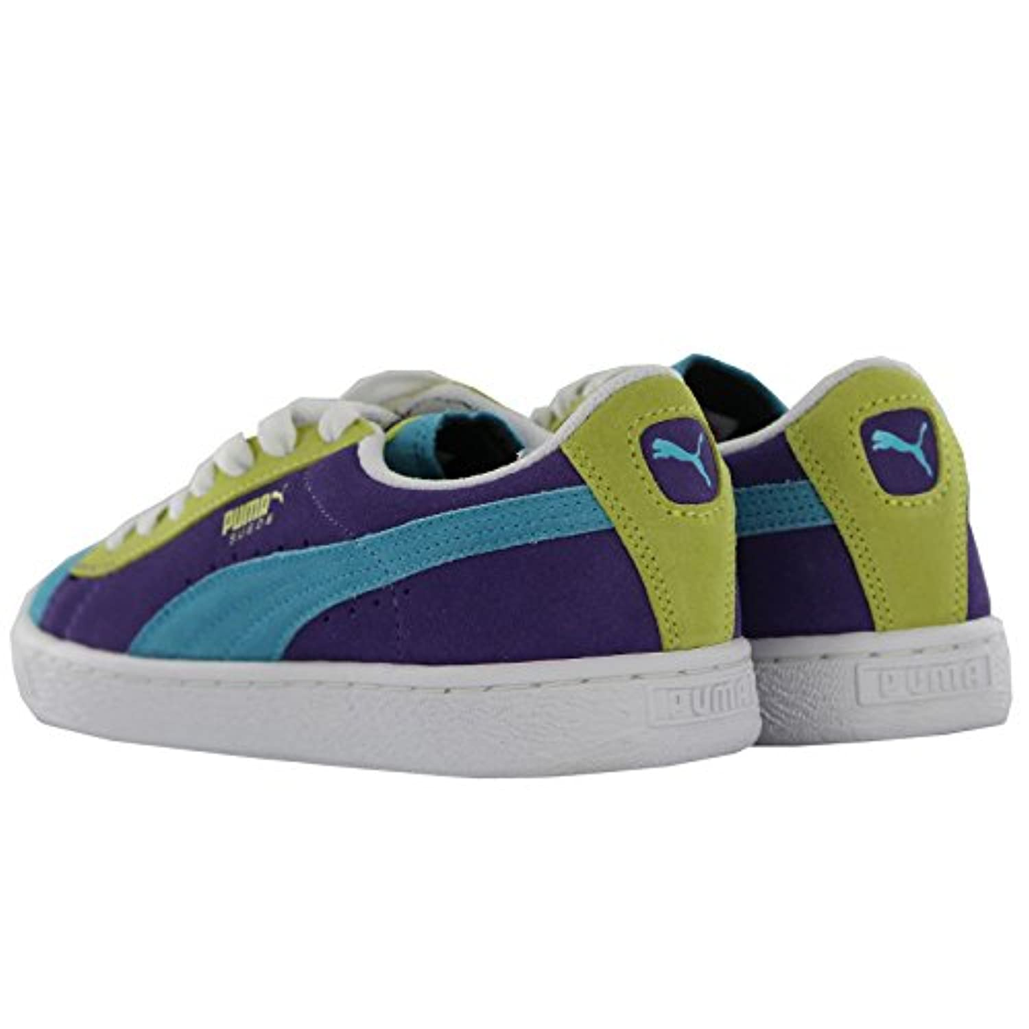 Puma Suede Multi Youths Trainers Size 4 UK