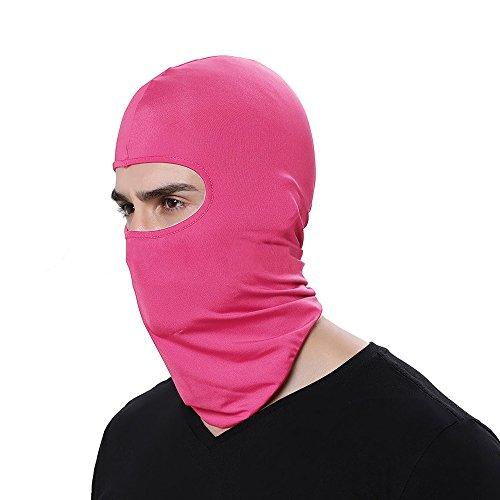 FEDULK Ski Full Face Mask Hat Outdoor Motorcycle Winter Sun Balaclava Tactical Hood Helmet Cycling(J)