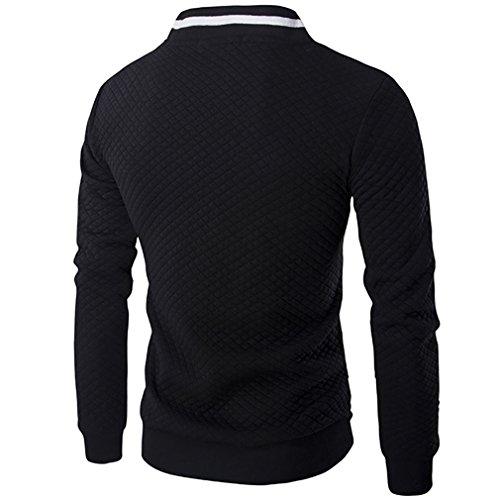 Autunno Primavera Classic colore Da Fen Cappotti Collare Comodi Giacca Stand L Dimensione Baseball Patchwork Fashion Uomo 5 4wzBxvq
