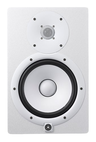 Yamaha HS8 W 8-Inch Powered Studio Monitor Speaker, White