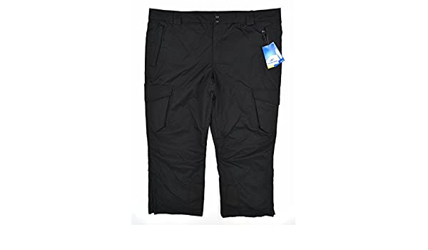 fd658d5956 Amazon.com  Slalom Water Resistant Insulated Men s Side Zip Cargo Snow  Pants 3XL  Clothing