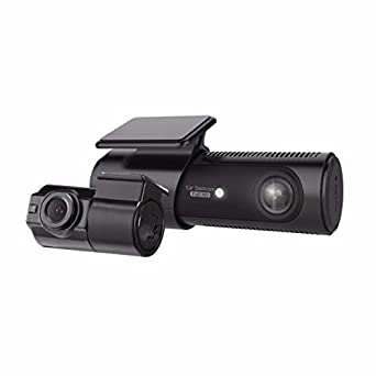 LG Innotek 2-Channel Full HD Front Rear 1080p Dashcam with Wi-Fi, 32GB MicroSD LGD521
